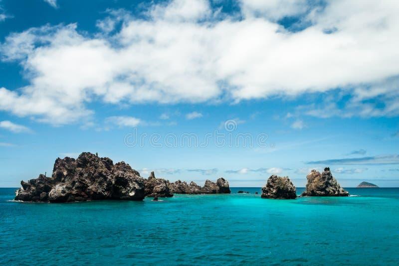 Corona del diablo, islas de las Islas Gal3apagos fotografía de archivo libre de regalías