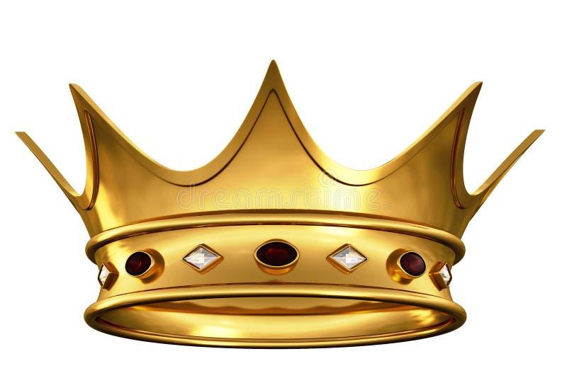 Corona del oro libre illustration