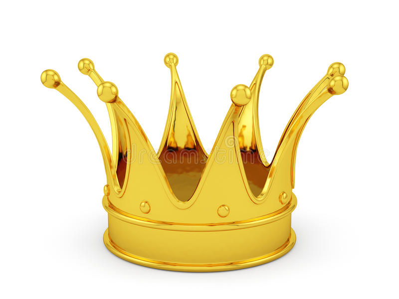 Corona dell'oro illustrazione di stock