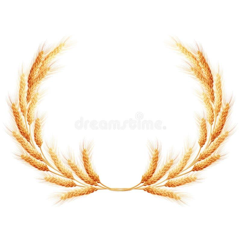 Corona delle orecchie del grano ENV 10 royalty illustrazione gratis