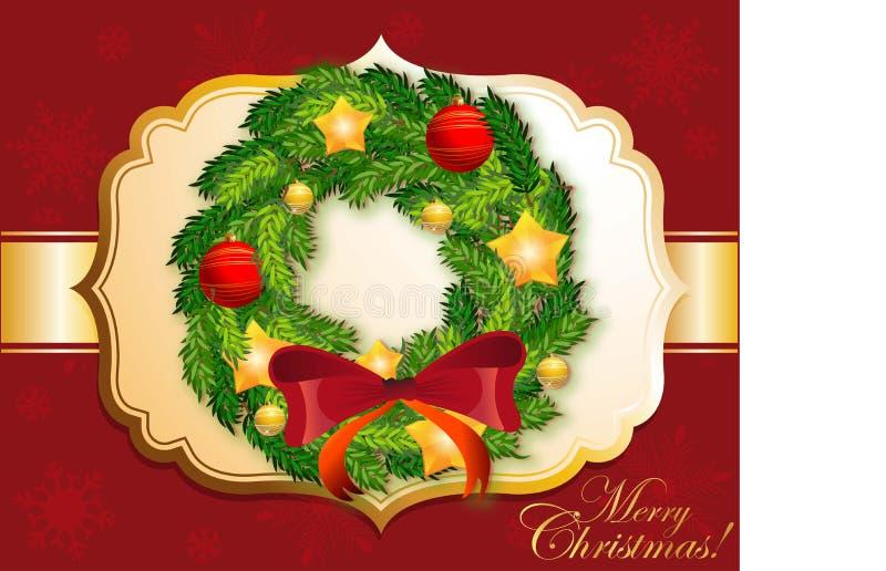 Corona dettagliata di Natale immagini stock libere da diritti