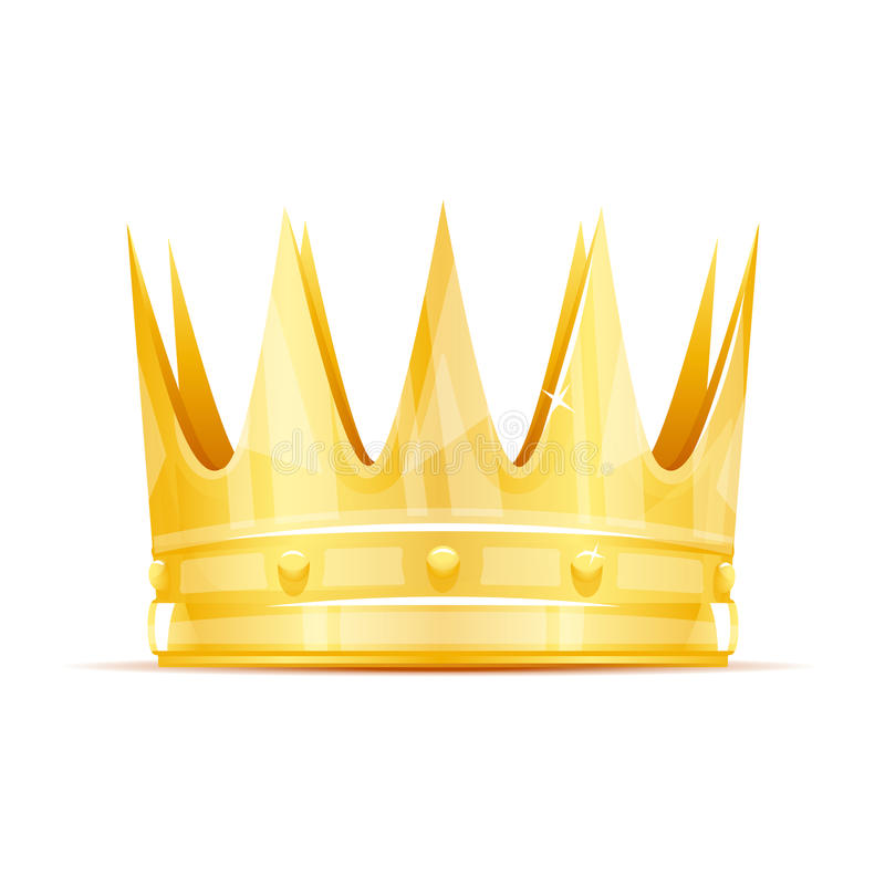 Corona di re illustrazione di stock