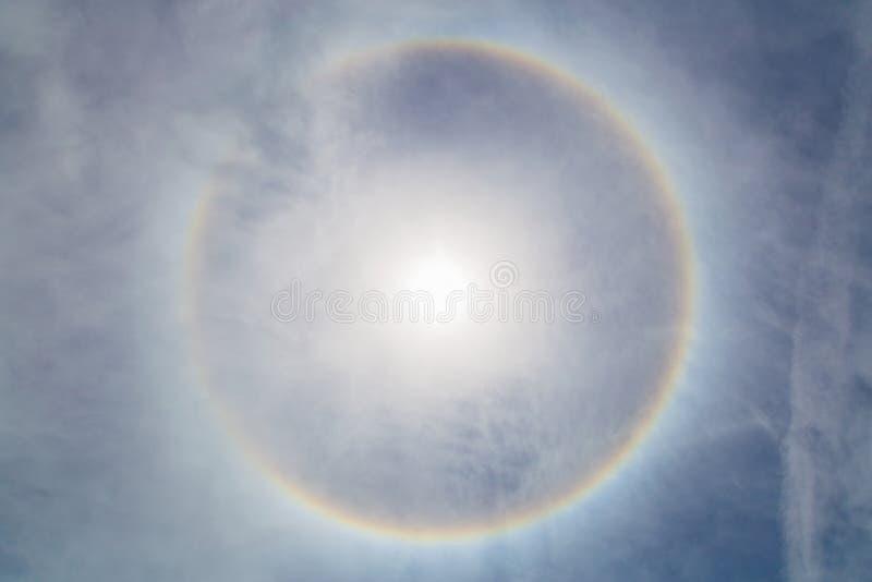 Corona do sol imagem de stock