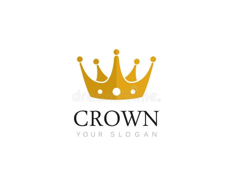 Corona Logo Template fotografie stock