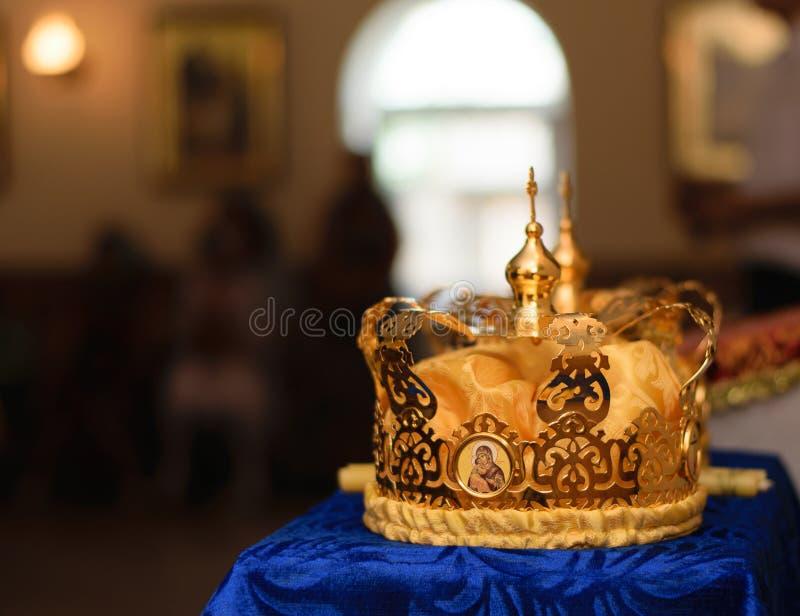 Corona para casarse imágenes de archivo libres de regalías