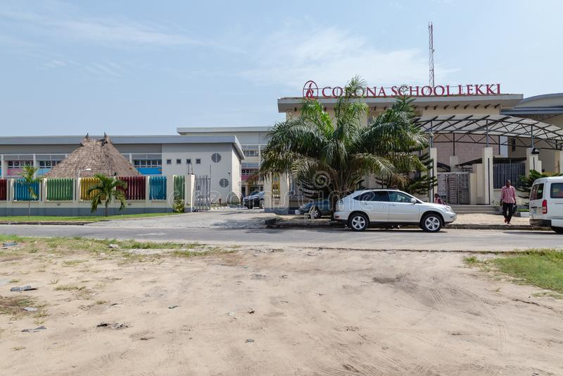 Corona School Lekki Lagos Nigeria foto de stock