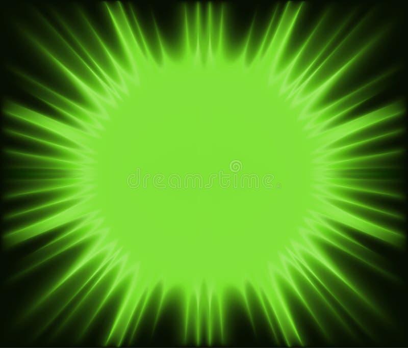 Corona verte illustration libre de droits