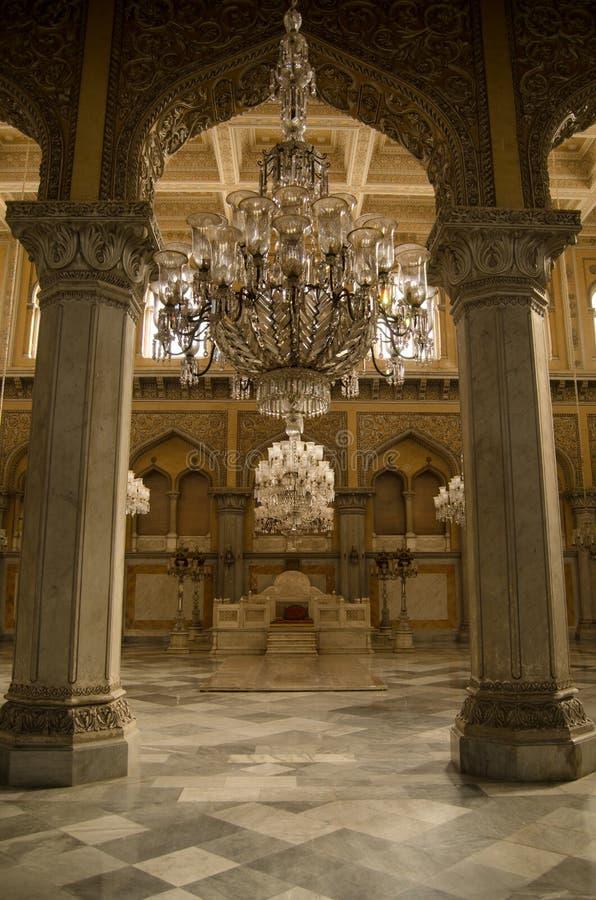 Coronación Pasillo, palacio de Chowmahalla imagen de archivo libre de regalías