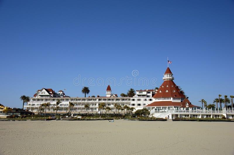 coronado del hotel στοκ εικόνα με δικαίωμα ελεύθερης χρήσης