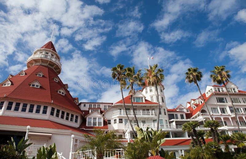 Hotel del Coronado lizenzfreies stockfoto