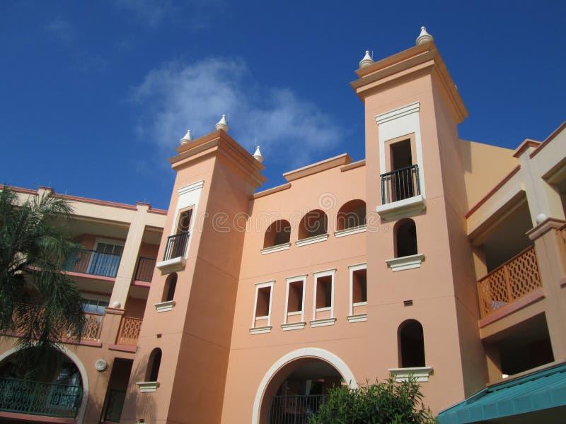Coronado vårsemesterort Orlando Florida royaltyfri bild
