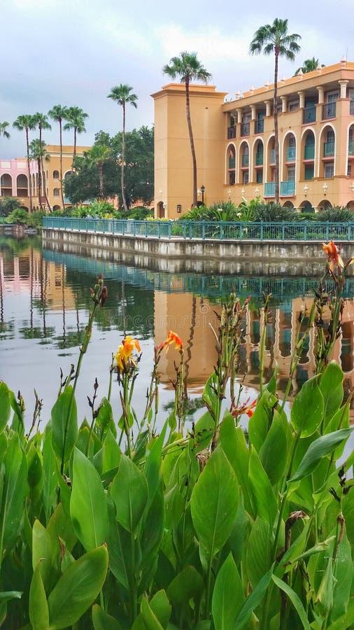 Coronado wiosen kurortu Casitas budynek obraz stock