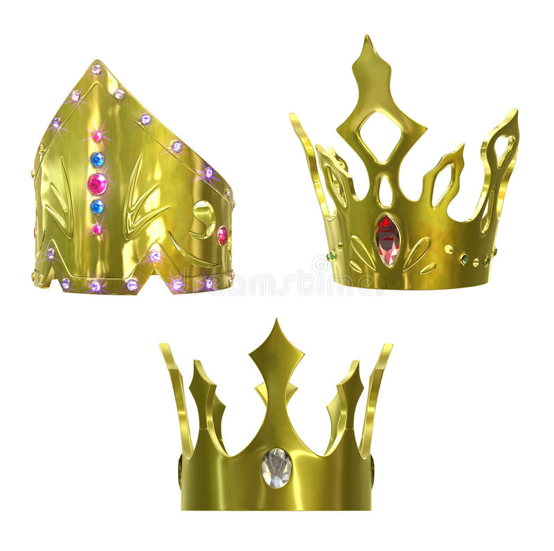 Coronas de oro libre illustration