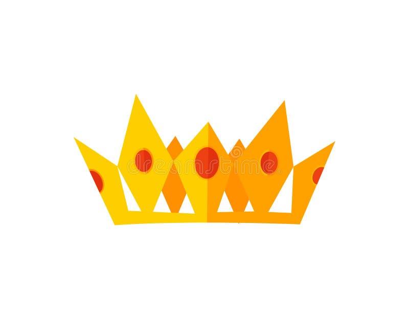 Coronas del oro del vector ilustración del vector