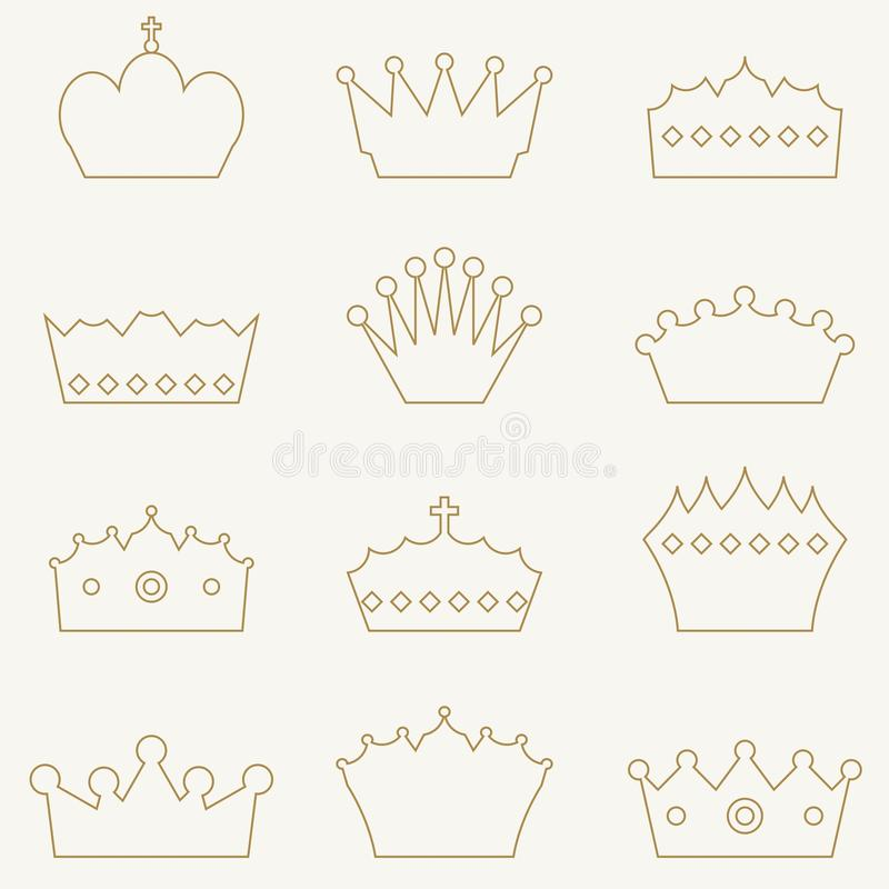 Coronas reales libre illustration