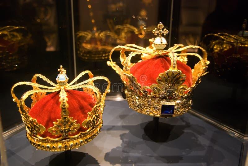 Coronas. Rosenborg. Copenhague fotos de archivo libres de regalías