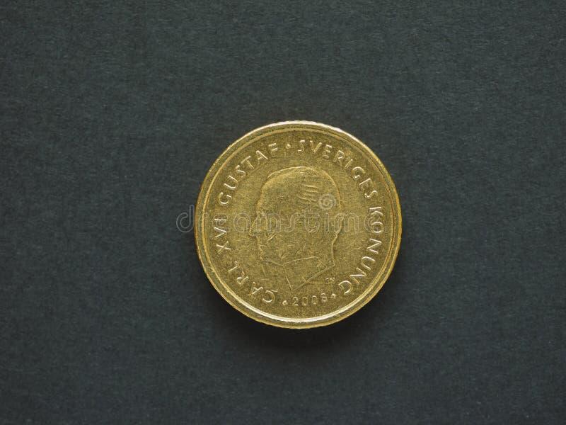 10 coronas suecas y x28; SEK& x29; moneda foto de archivo