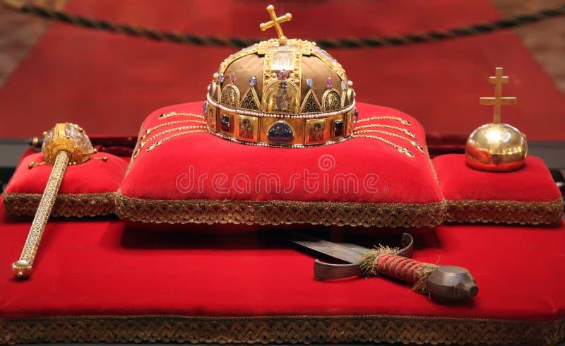 coronationjuvlar royaltyfri bild