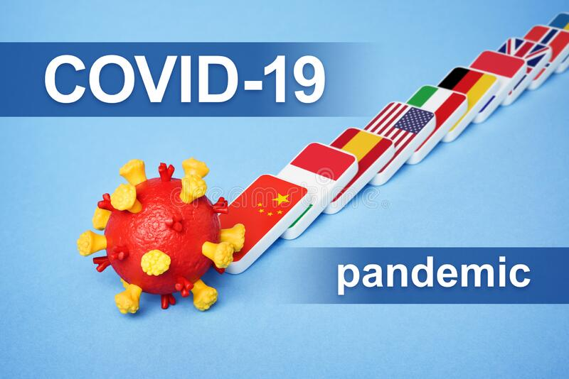 Coronavirus disease COVID-19 Pandemic stock photo