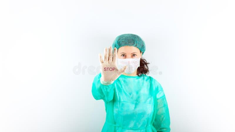 Coronavirus 2019-nCoV. Stop royalty free stock images