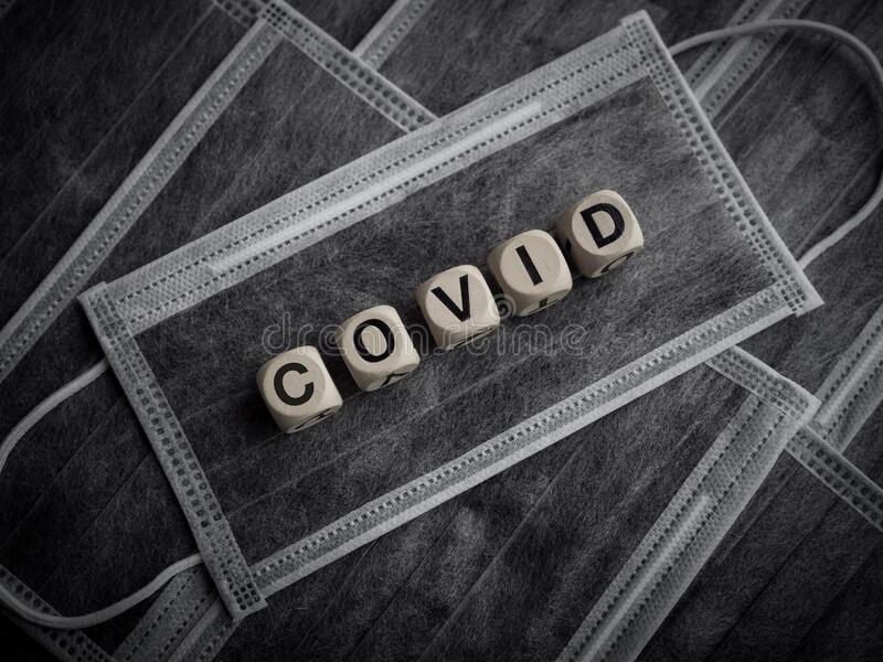 Coronavirus- oder Covid-19-Konzept stockfotos
