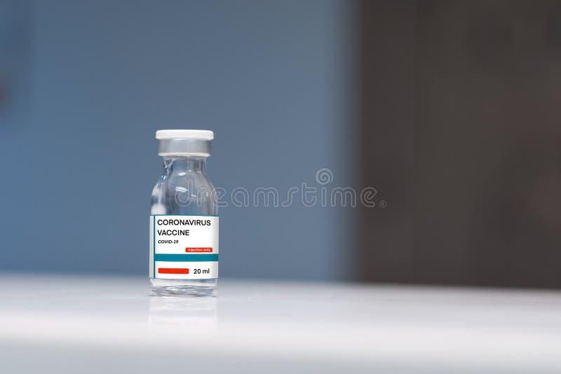 Coronavirus vaccin, COVID-19 VACCIN royalty-vrije stock foto