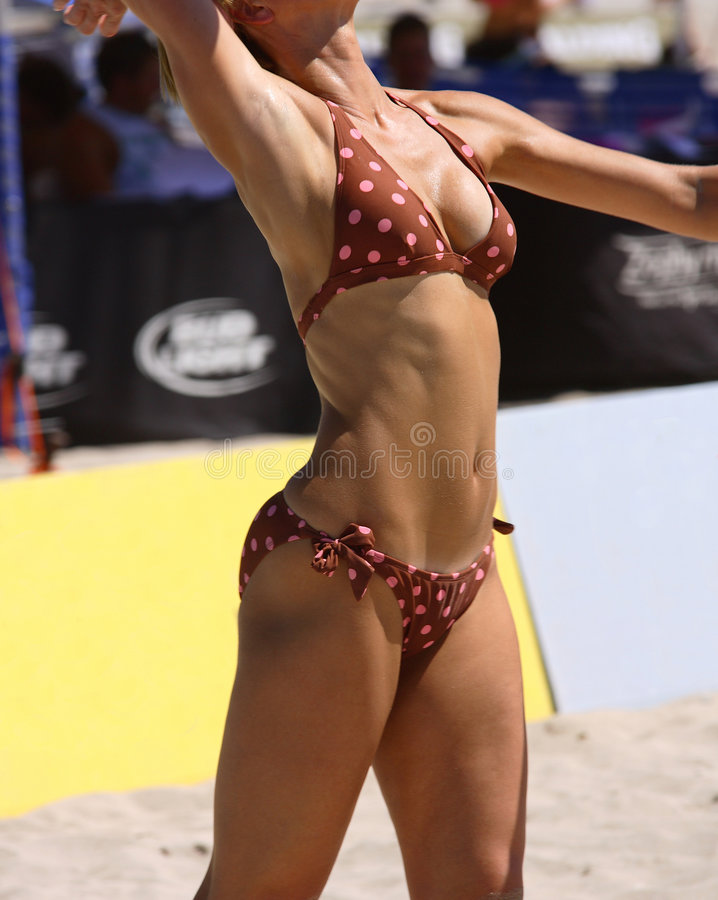 Corpo atlético fêmea fotos de stock royalty free