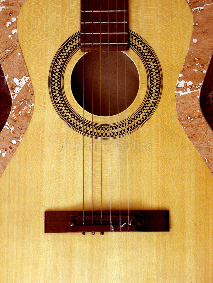 Corpo clássico da guitarra foto de stock royalty free