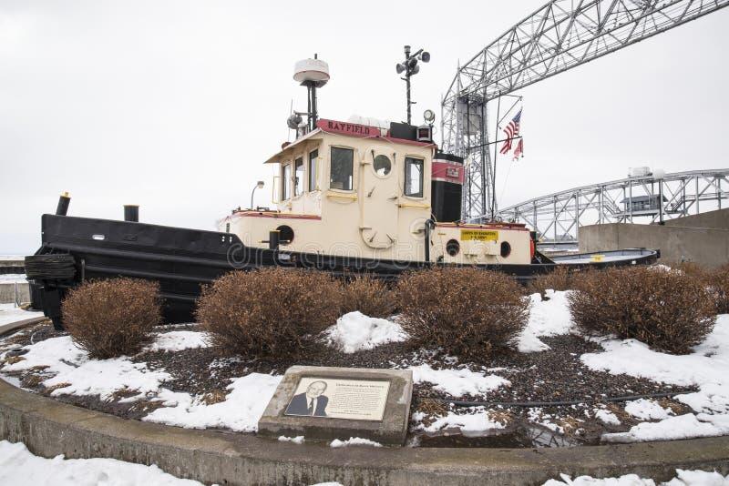 Corpo de barco do disjuntor de gelo dos coordenadores imagem de stock