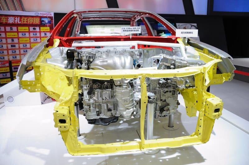 Corpo de carro de Toyota Camry imagem de stock royalty free