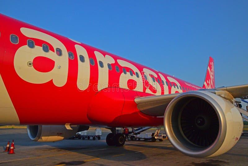 Corpo del volo Airbus A320 di AirAsia immagine stock libera da diritti