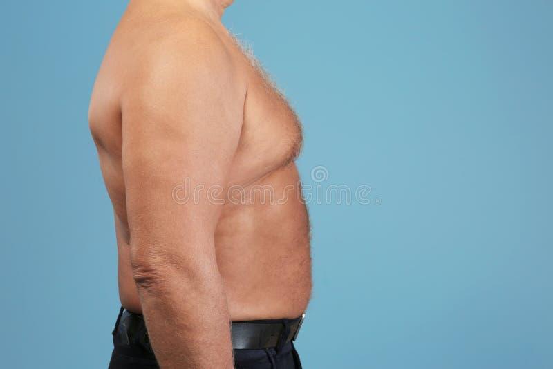 Corpo dell'uomo senior immagine stock libera da diritti