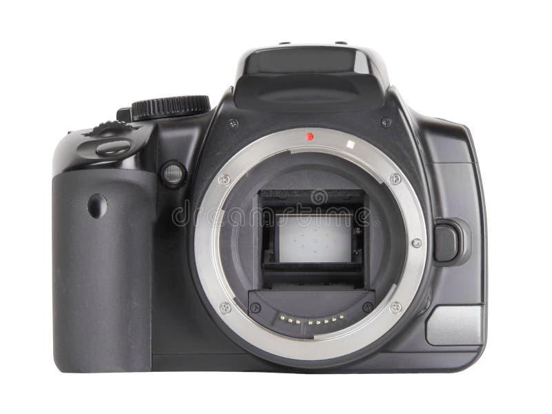 Corpo della macchina fotografica di DSLR fotografie stock libere da diritti