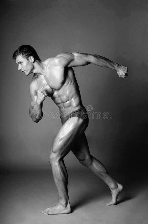 Corpo do treinamento da beleza imagens de stock