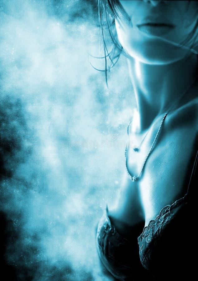 Corpo 'sexy' de Grunge ilustração royalty free