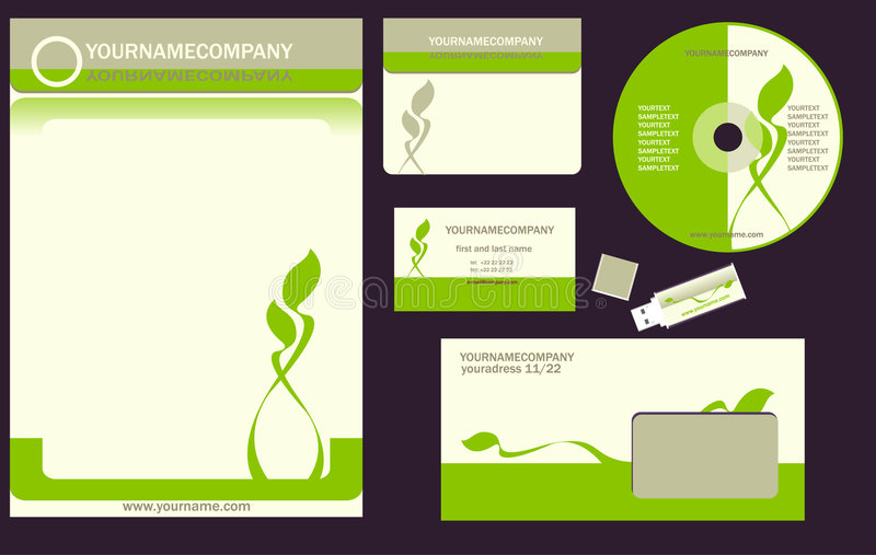 Download Corporate stock vector. Image of card, blue, copy, company - 8896118