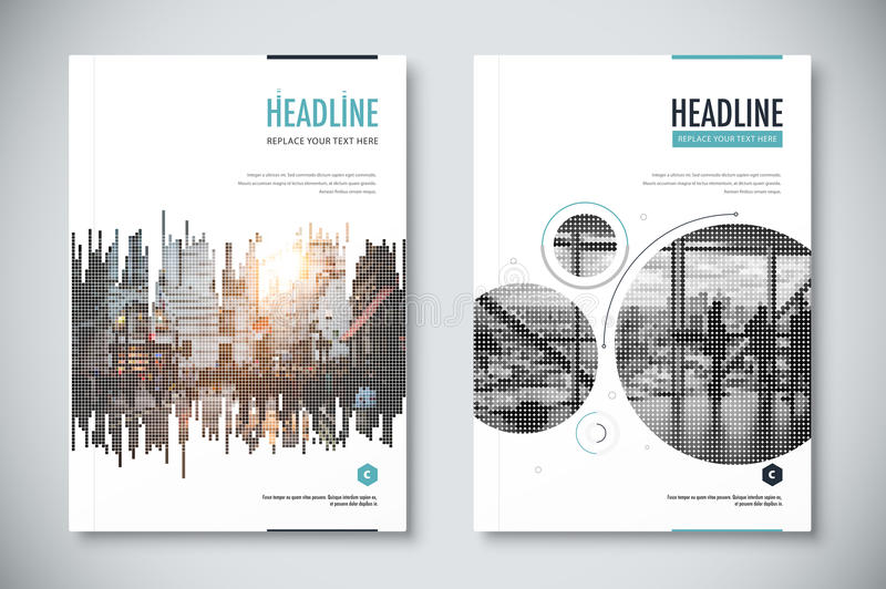 Corporate Annual Report Template Design. Corporate Business Docu ...