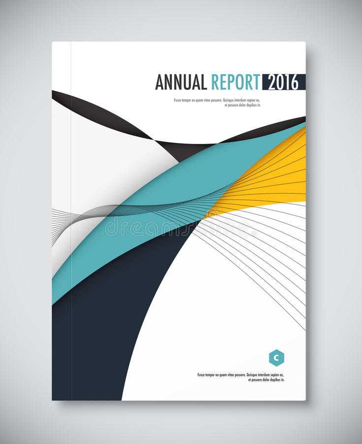 Corporate annual report template design corporate business stock download corporate annual report template design corporate business stock vector illustration of geometric flashek Choice Image