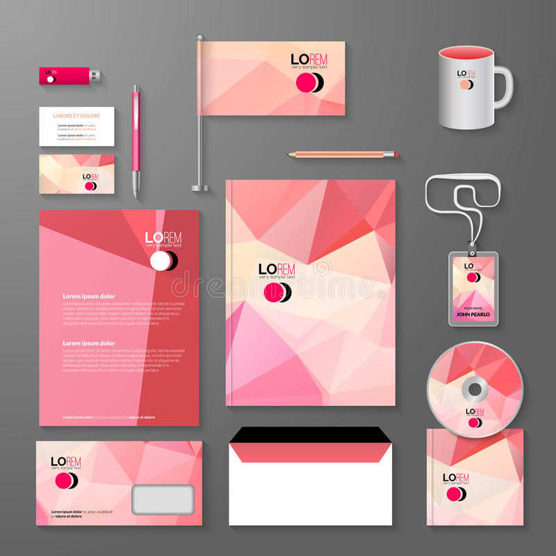 Corporate Brand Business Identity Design Template Layout. Letter ...