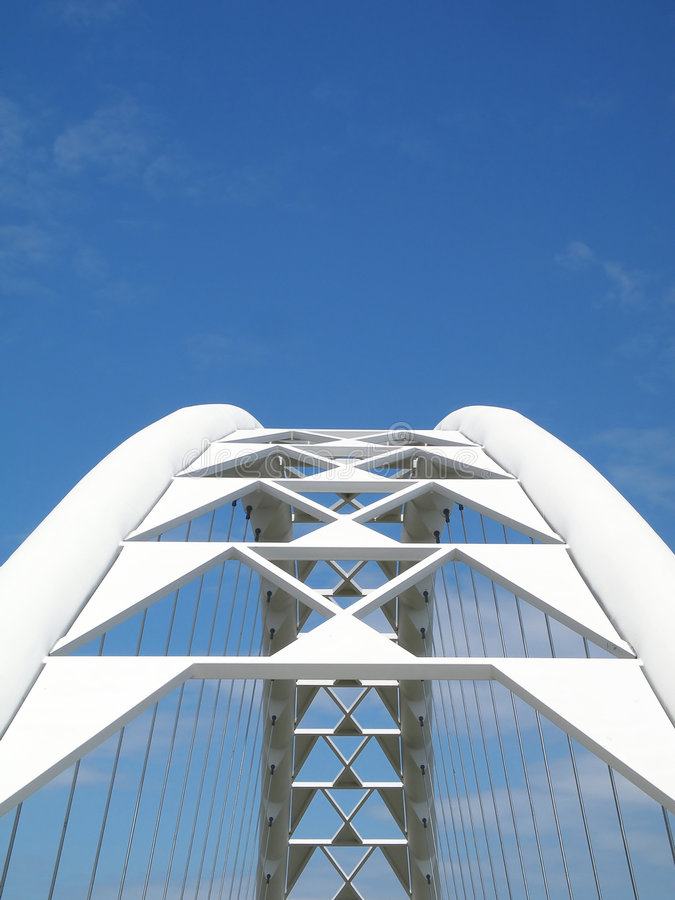 Download Corporate Bridge stock image. Image of oval, semetric, supporting - 769855
