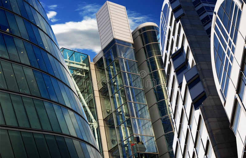 Corporate building royalty free stock photos
