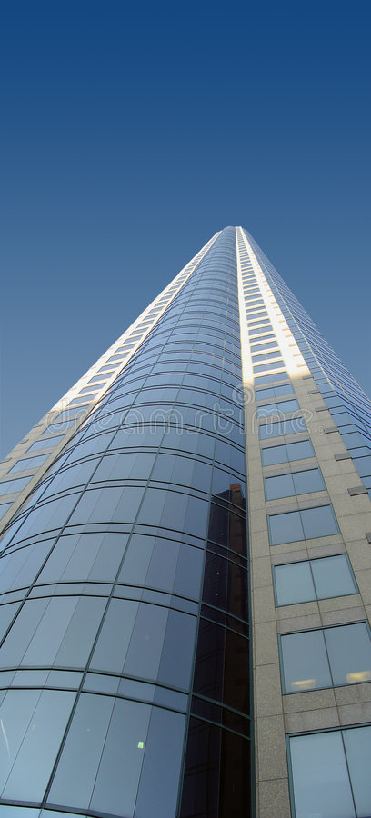 Corporate Building. Tall Corporate Building royalty free stock photos