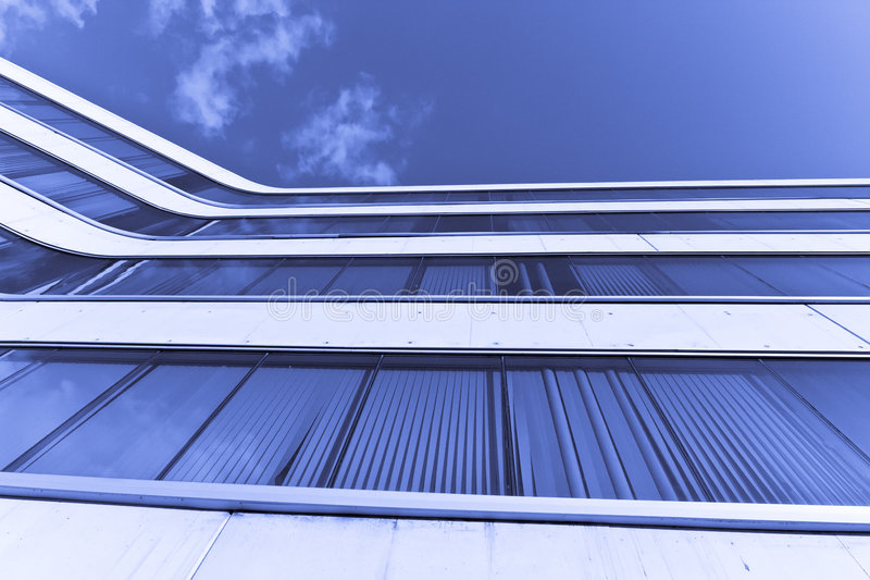 Download Corporate building stock image. Image of blue, built, geometry - 5448881
