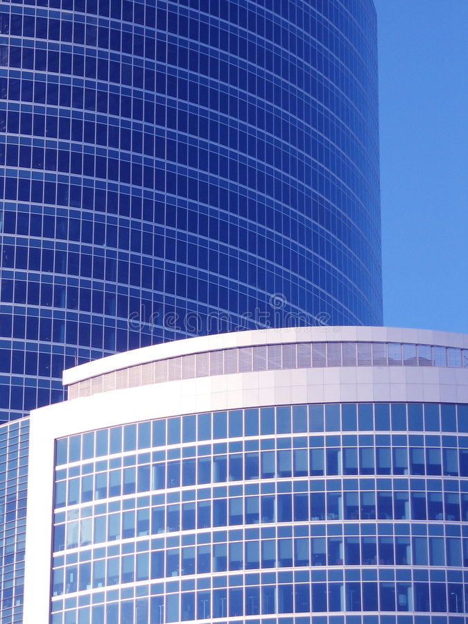 Download Corporate Building On The Blue Royalty Free Stock Images - Image: 2311009