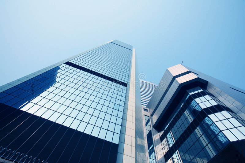 Download Corporate Building In Hongkong Stock Photo - Image of business, perspective: 7504264