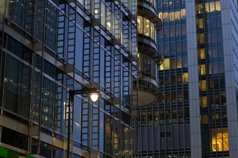 Corporate buildings stock images