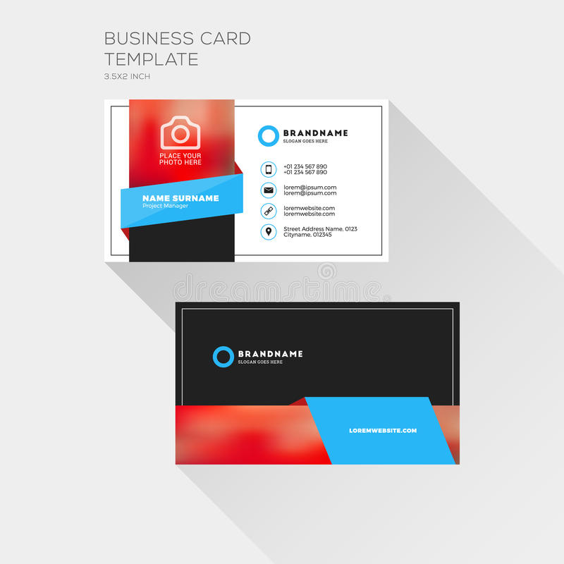 Template For Printing Business Cards