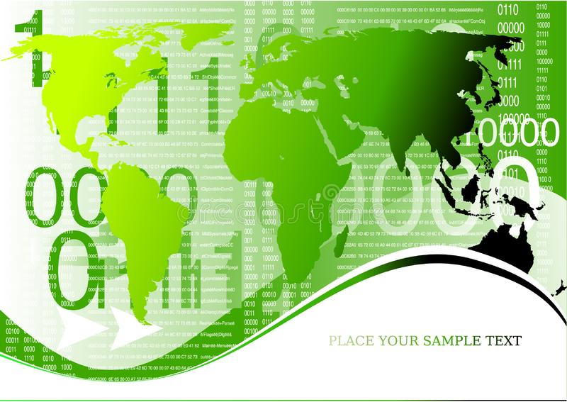 Corporate business globe background stock photo