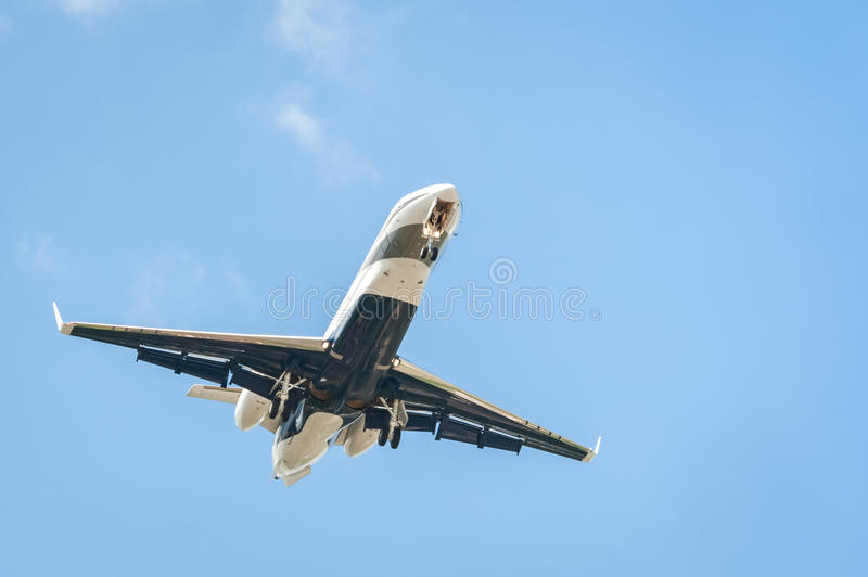 Corporate business jet stock images