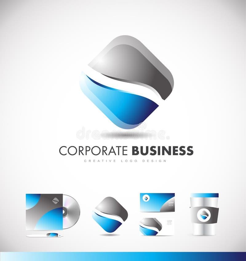 Letter N Square Shape Logo Vector Icon: Corporate Business Rhombus Logo Icon Design Stock